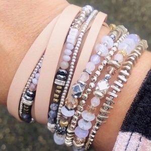 stella & dot ~ keely wrap bracelet